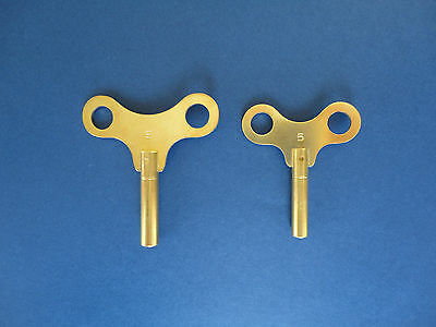 *KUNDO / KIENINGER&OBERGFELL / K&O* 400 Day Anniversary Torsion Brass CLOCK KEY