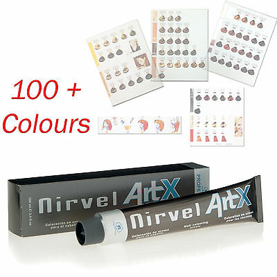 Brown, Copper, Coppery Colours Professional Hair Colour Cream Tint Dye Colourant