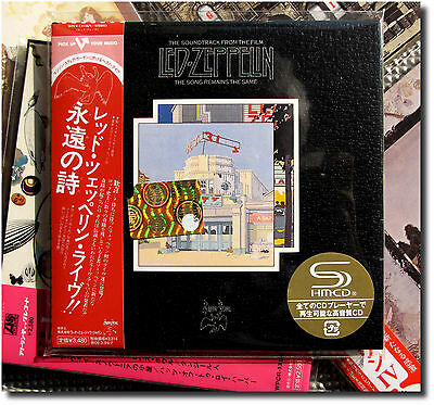 Led Zeppelin ,The Song Remains The Same ( 2 SHM-CD_Paper Sleeve )