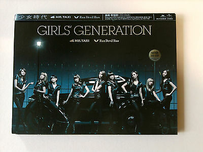 SNSD Girls Generation Korea Edition Mr.Taxi CD & DVD - Limited / No photo Card