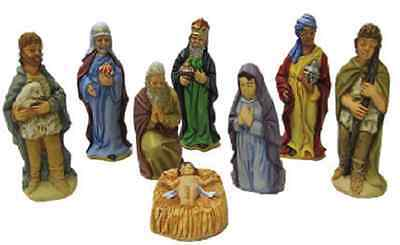 *NEW* SUPERCAST 8 x HIGHLY DETAILED  NATIVITY  LATEX MOULDS / MOLDS *NEW*