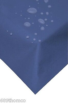 25 Indigo Swansilk Slip Table Covers 90cm Reusable Wipeable Table Clothes Xmas