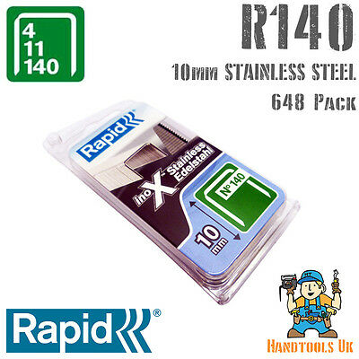 Stainless Steel Rapid Proline 140 Series10mm Staples Handy Pack
