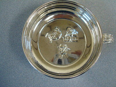 Never Used Towle Nursery Rhyme ollection Silverplate Porringer Bowl