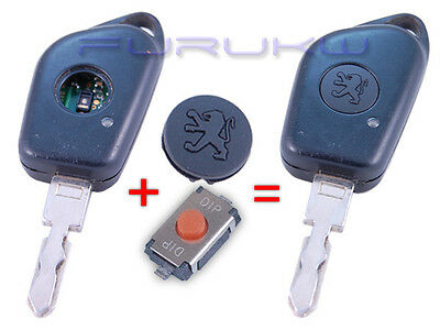 Peugeot 106 206 306 406 Partner Expert Boxer Remote Key Button + Switch Button