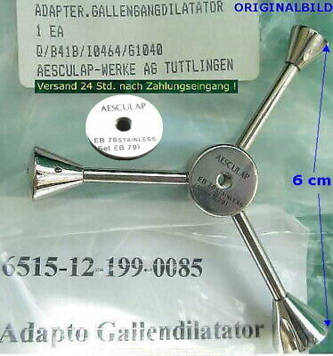 Aesculap Adapter Gallengangdilatator Gallengang Dilatator Surgical Instruments