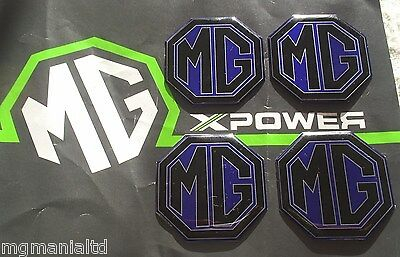 MGZR MG ZR Alloy wheel centre badge inserts 4 off MG Sport /& Racing XPower