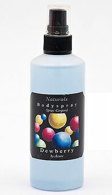125ml DELIGHTFUL BRITISH MADE DEWBERRY BODY+ROOM SPRAY,SUPERB QUALITY+VALUE