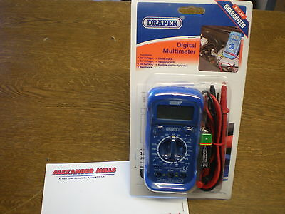 Draper Tools 60792 20 Position Multimeter With Back Light 60792 Workshop Garage