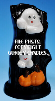 """Gurley  """"Saf-T-Glo""""  Candle Lamp - Haunted Hollow"""