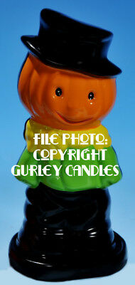 "Gurley ""Saf-T-Glo""  Candle Lamp - Scarecrow"