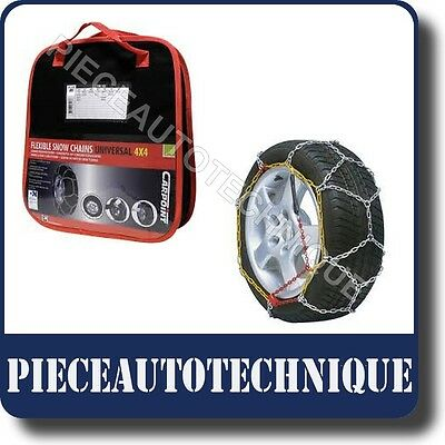 CHAINES NEIGE CHAINE NEIGE HIVER A CROISILLONS 16MM 4x4 SUV UTILITAIRE