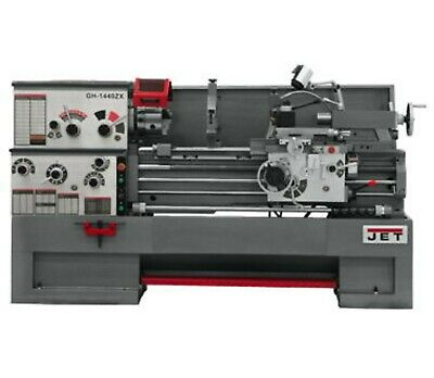 JET GH-1440ZX 14x40 LARGE SPINDLE BORE LATHE 321910 FREE Shipping!