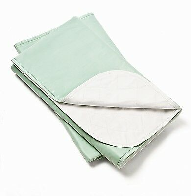 6 PREMIUM Cloth Bed Pads Reusable Underpads Incontinence Waterproof Hospital