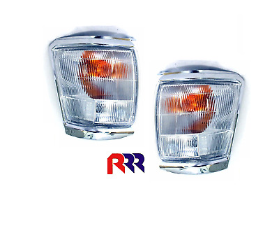 New Toyota Hilux Corner Light Chrome (Pair) 2/4Wd 10/97-10/01