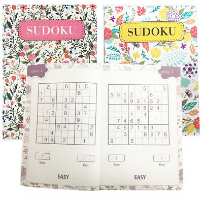 Brain Challenging SUDOKU Puzzle Travel Book 4 Stage 110 Number Tests & Solution