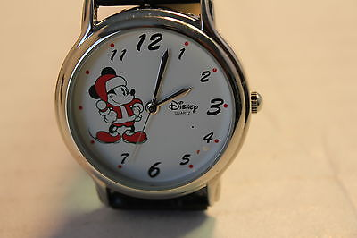 It's That Time Of The Year Disney Mickey Mouse Christmas Watch
