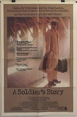 A SOLDIER'S STORY - HOWARD E. ROLLINS Jr. - ORIGINAL AMERICAN 1SHT MOVIE POSTER