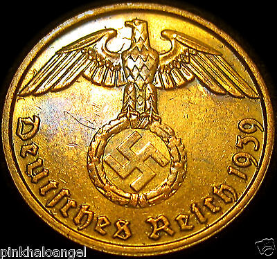 Germany - German Third Reich - German 1939B 2 Reichspfennig Coin