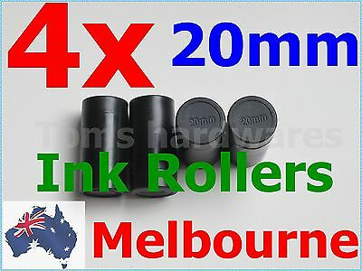 4x 20mm Ink Rollers for 5500 / MX-5500/ CN-5500 Labels Price Labeller