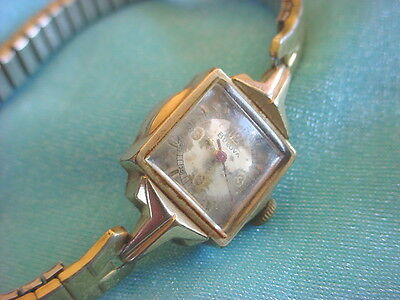 1965 Vintage Ladies BULOVA Watch WRISTWATCH 10K RGP Gold 17 Jewels Swiss Working