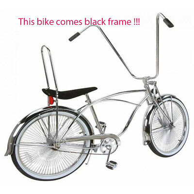 "26/"" Beach Cruiser Bike Bicycle Tricycle Steel Frame Chrome"