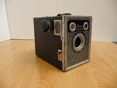 Vintage Ansco Shur Shot Camera 120 Film Made In Binghamton New York