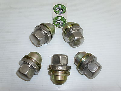 Land Rover Discovery 2 Alloy Wheels Nuts X 5 - 98 To 04 - New Nuts - Anr3679