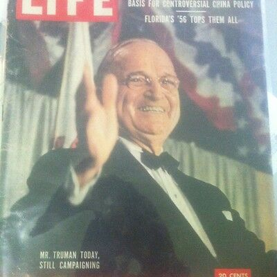 Life Truman Today January 23 1956
