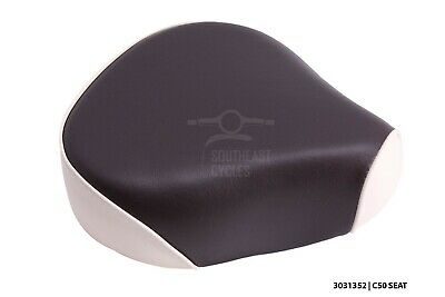 Front seat (solo) for Honda cub C50 C70 C90 C100 1980 onwards, MANY COLORS, LOOK