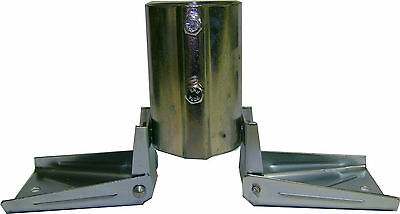 """Eagle Roof Mount Fits Antenna Masts Up To 1 3//8/"""" Inch Tubing Universal Peak Mast"""