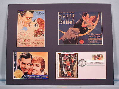 Clark Gable - It Happened One Night directed by Frank Capra & First Day Cover