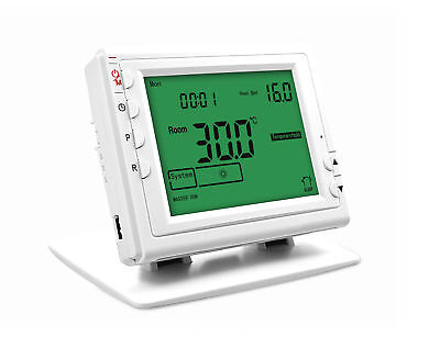 Wireless Room Thermostat with Receiver SAS908WHB-3-RF