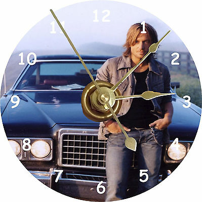 BRAND NEW Coutry Singer Keith Urban Car CD Clock