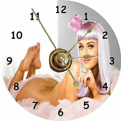 BRAND NEW Singer Sexy Katy Perry CD Clock