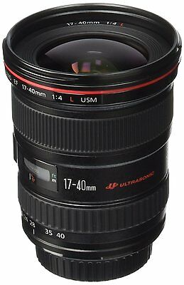 Canon EF 17-40mm f/4L USM Ultra Wide Angle Zoom Lens. 8806a002