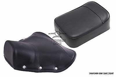 Driver solo seat cover and buddy seat vespa VBB VBA VNA VNB MANY COLORS, LOOK@