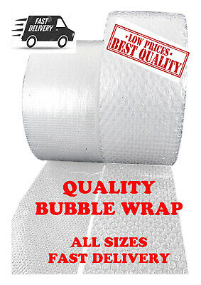 Small & Large Bubble Packaging Wrap for Safe and Secure Removal and Storage