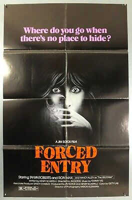 Forced Entry - Tanya Roberts / Ron Max - Original American 1Sht Movie Poster