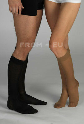 18-21 mmHg TONUS ELAST Compression Socks Closed Toe Knee High Support Stockings