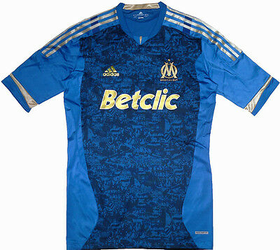 Marseille TECHFIT Player Issue Football Shirt Soccer Jersey France Trikot Top