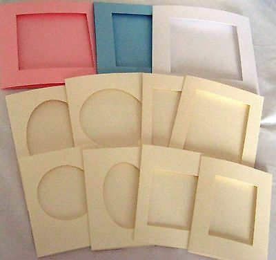 Aperture Cards  3 fold with Envelopes Crafters Pack Medium