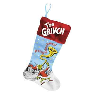 """Dr Seuss The Grinch Stocking 20"""""""