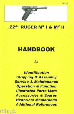 Ruger Mark 1 & Mark 2 - MKI & MKII Assembly, Disassembly Manual #30