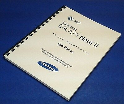 Samsung Galaxy Note II (Note 2) User Manual for AT&T (model SGH-i317)