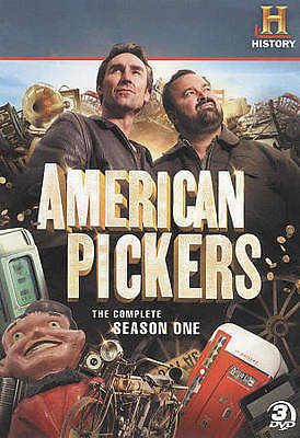 American Pickers ~ 1st First Season 1 One ~ BRAND NEW DVD SET