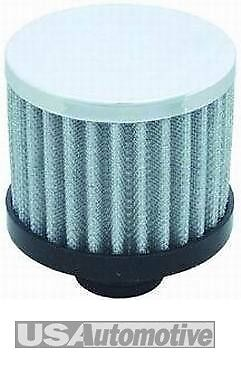 "Chevy Chrome Push -  In Filter Breather, Cap 3"" R9308"