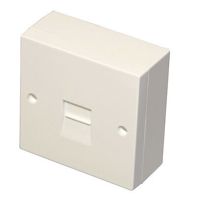 BT Telephone Extension Surface Mounted Box/Socket