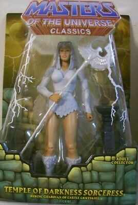 TEMPLE OF DARKNESS SORCERESS  MOTU Masters of the Universe Classics MOC NEU &OVP