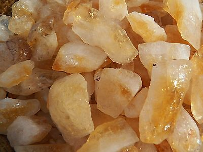 3000 Carat Lots of Citrine Points Rough -Plus a FREE Faceted Gemstone